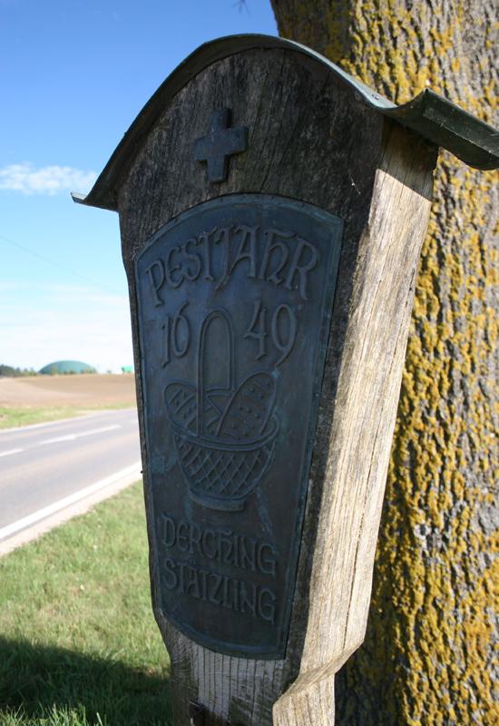 Historie - Pestjahr in Derching