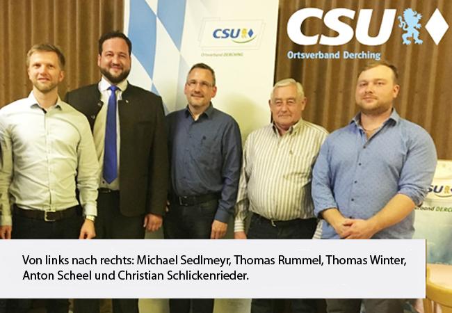 CSU Ortsverband Derching Gruppenmitglieder