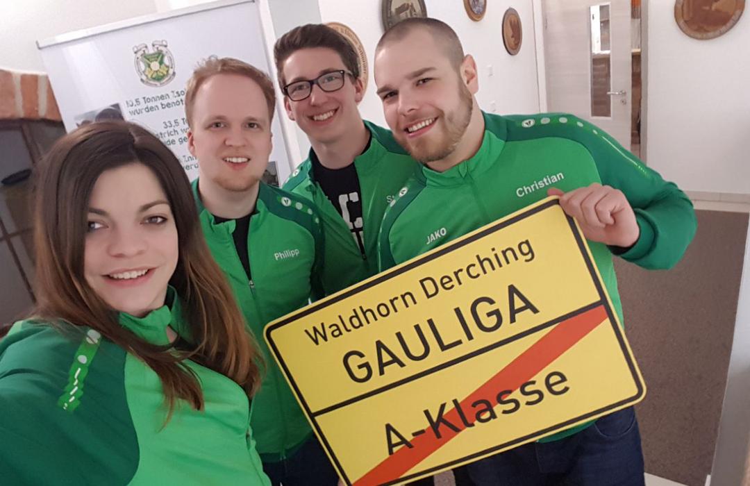 Rundenwettkampf Waldhornschützen in Derching