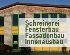 Schreinerei Sedlmeyr in Derching