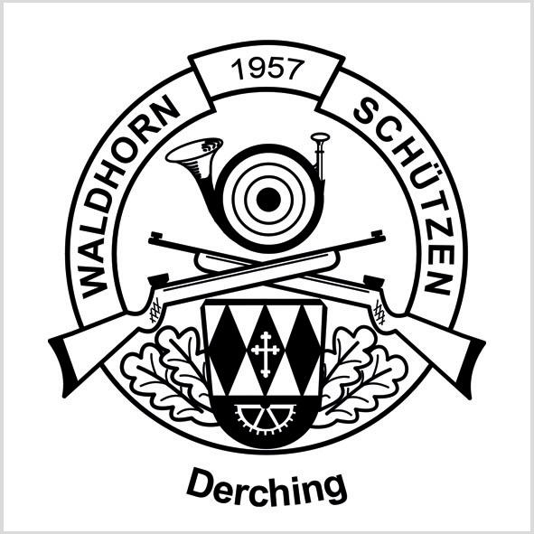 Waldhorn-Schützen in Derching