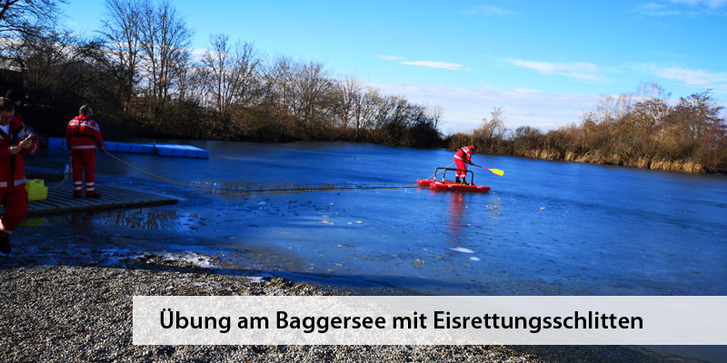 Wasserwacht Derching Eisrettungsschlitten