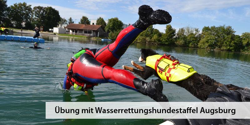 Wasserwacht Derching Hundestaffel Augsburg