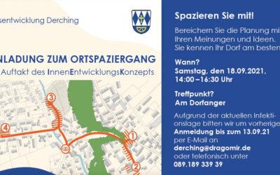 Einladung zum Ortsspaziergang in Derching